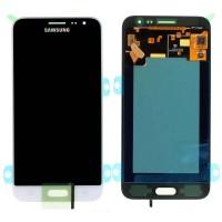 Ansamblu Display LCD + Touchscreen Samsung Galaxy J3 2016 J320FN White Alb . Ecran + Digitizer Samsung Galaxy J3 2016 J320FN White Alb
