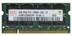 Memorie Laptop Hynix 2GB DDR2 667 MHz