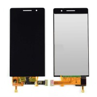 Ansamblu Display LCD + Touchscreen Huawei Ascend P6 fara rama Negru ORIGINAL. Ecran + Digitizer Huawei Ascend P6 fara rama Nrgru ORIGINAL