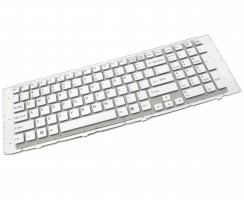 Tastatura Sony 14100014 alba. Keyboard Sony 14100014. Tastaturi laptop Sony 14100014. Tastatura notebook Sony 14100014