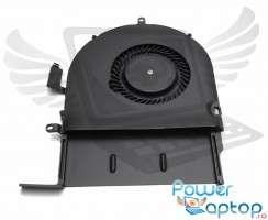 Cooler laptop Apple MacBook A1502. Ventilator procesor Apple MacBook A1502. Sistem racire laptop Apple MacBook A1502