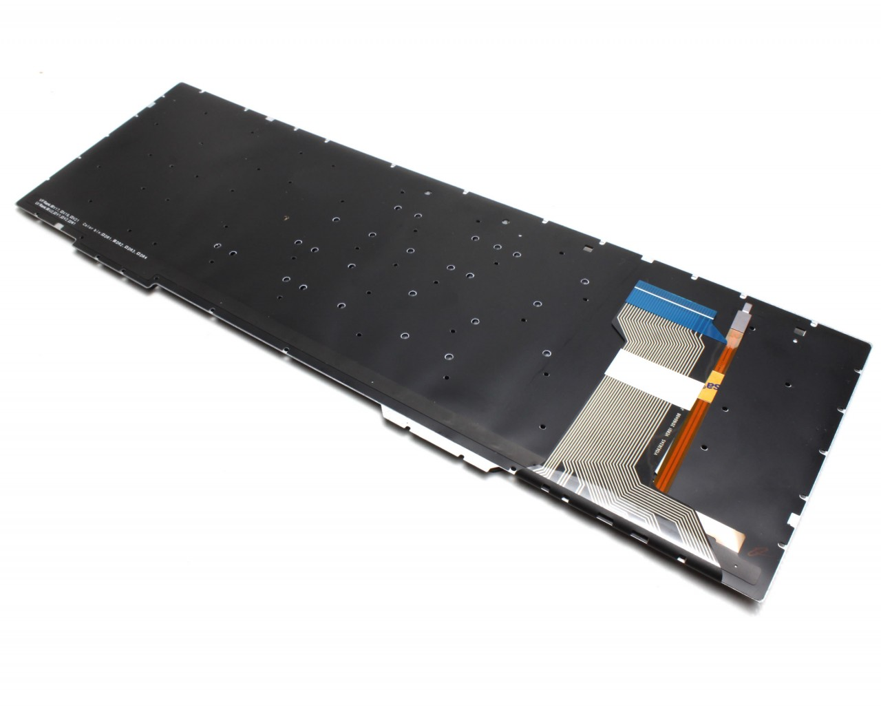 Tastatura Asus ZX553VD iluminata layout US fara rama enter mic imagine powerlaptop.ro 2021