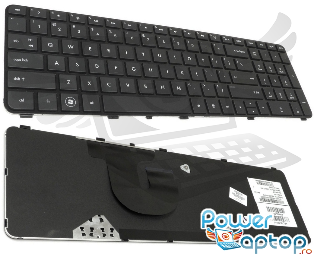 Tastatura HP Pavilion dv7 4040 imagine powerlaptop.ro 2021