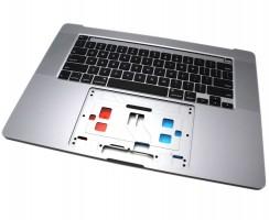 "Tastatura Apple MacBook Pro Retina 16"" A2141 2020 Neagra cu Palmrest Gri. Keyboard Apple MacBook Pro Retina 16"" A2141 2020 Neagra cu Palmrest Gri. Tastaturi laptop Apple MacBook Pro Retina 16"" A2141 2020 Neagra cu Palmrest Gri. Tastatura notebook Apple MacBook Pro Retina 16"" A2141 2020 Neagra cu Palmrest Gri"