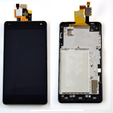 Ansamblu Display LCD LG Optimus G e975 + Touchscreen LG Optimus G e975 ORIGINAL