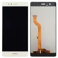 Ansamblu Display LCD + Touchscreen Huawei P9 Dual Sim EVA-L19 White Alb . Ecran + Digitizer Huawei P9 Dual Sim EVA-L19 White Alb