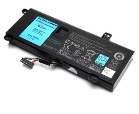 Baterie Alienware  14D-1528 Originala. Acumulator Alienware  14D-1528. Baterie laptop Alienware  14D-1528. Acumulator laptop Alienware  14D-1528. Baterie notebook Alienware  14D-1528