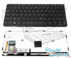 Tastatura HP EliteBook 720 G iluminata backlit. Keyboard HP EliteBook 720 G iluminata backlit. Tastaturi laptop HP EliteBook 720 G iluminata backlit. Tastatura notebook HP EliteBook 720 G iluminata backlit