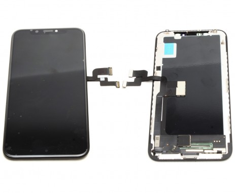 Ansamblu Display LCD + Touchscreen Apple iPhone X Negru Black High LED TFT Copy Calitate A+. Ecran + Digitizer Apple iPhone X Negru Black LED TFT High Copy Calitate A+