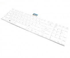 Tastatura Toshiba Satellite C50-A-100 Alba. Keyboard Toshiba Satellite C50-A-100 Alba. Tastaturi laptop Toshiba Satellite C50-A-100 Alba. Tastatura notebook Toshiba Satellite C50-A-100 Alba