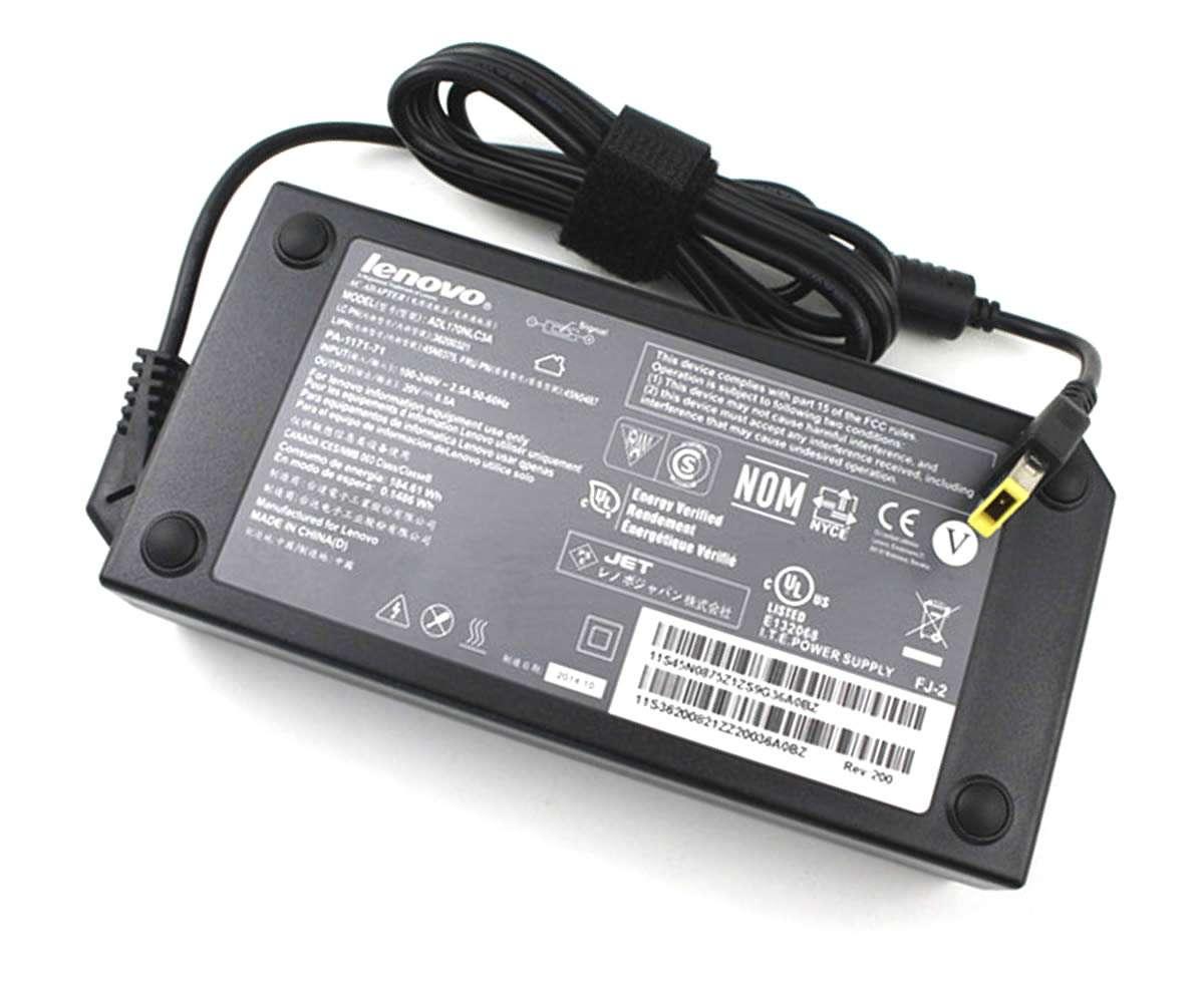 Incarcator Lenovo ThinkPad T550 170W mufa USB yellow imagine powerlaptop.ro 2021