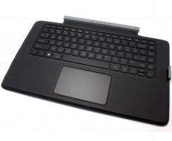 Tastatura HP 777238-001 Neagra Docking cu Palmrest si Touchpad iluminata backlit. Keyboard HP 777238-001 Neagra Docking cu Palmrest si Touchpad. Tastaturi laptop HP 777238-001 Neagra Docking cu Palmrest si Touchpad. Tastatura notebook HP 777238-001 Neagra Docking cu Palmrest si Touchpad