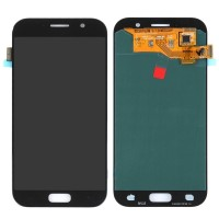 Ansamblu Display LCD + Touchscreen Samsung Galaxy A5 2017 A520 A520F TFT LCD Black Negru . Ecran + Digitizer Samsung Galaxy A5 2017 A520 A520F TFT LCD Negru Black