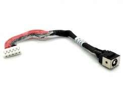 Mufa alimentare Lenovo IdeaPad V350 cu fir . DC Jack Lenovo IdeaPad V350 cu fir