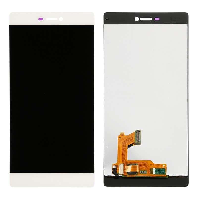 Display Huawei Ascend P8 White Alb imagine powerlaptop.ro 2021