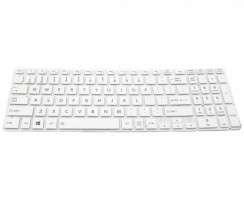 Tastatura Toshiba Satellite L50D-B Alba. Keyboard Toshiba Satellite L50D-B. Tastaturi laptop Toshiba Satellite L50D-B. Tastatura notebook Toshiba Satellite L50D-B