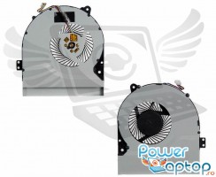 Cooler laptop Asus  X450CC  11mm grosime. Ventilator procesor Asus  X450CC. Sistem racire laptop Asus  X450CC