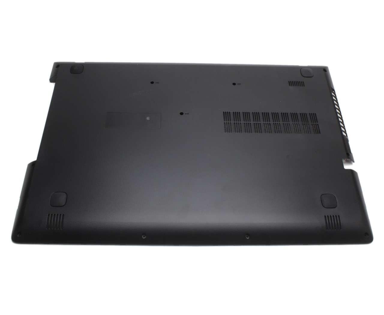 Bottom Case Lenovo IdeaPad 500 15ISK Carcasa Inferioara Neagra imagine powerlaptop.ro 2021