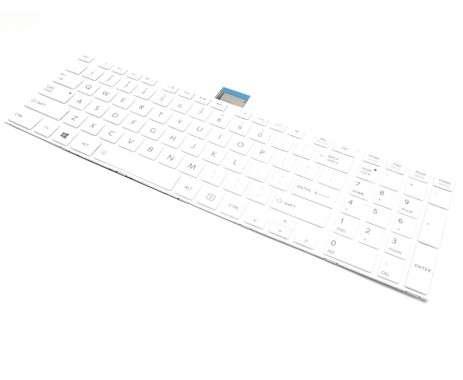 Tastatura Toshiba 0KN0-CK3LA13 Alba. Keyboard Toshiba 0KN0-CK3LA13 Alba. Tastaturi laptop Toshiba 0KN0-CK3LA13 Alba. Tastatura notebook Toshiba 0KN0-CK3LA13 Alba