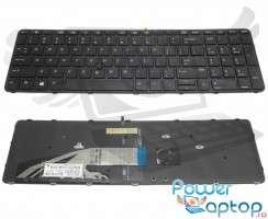Tastatura HP Probook 650 G3 iluminata backlit. Keyboard HP Probook 650 G3 iluminata backlit. Tastaturi laptop HP Probook 650 G3 iluminata backlit. Tastatura notebook HP Probook 650 G3 iluminata backlit