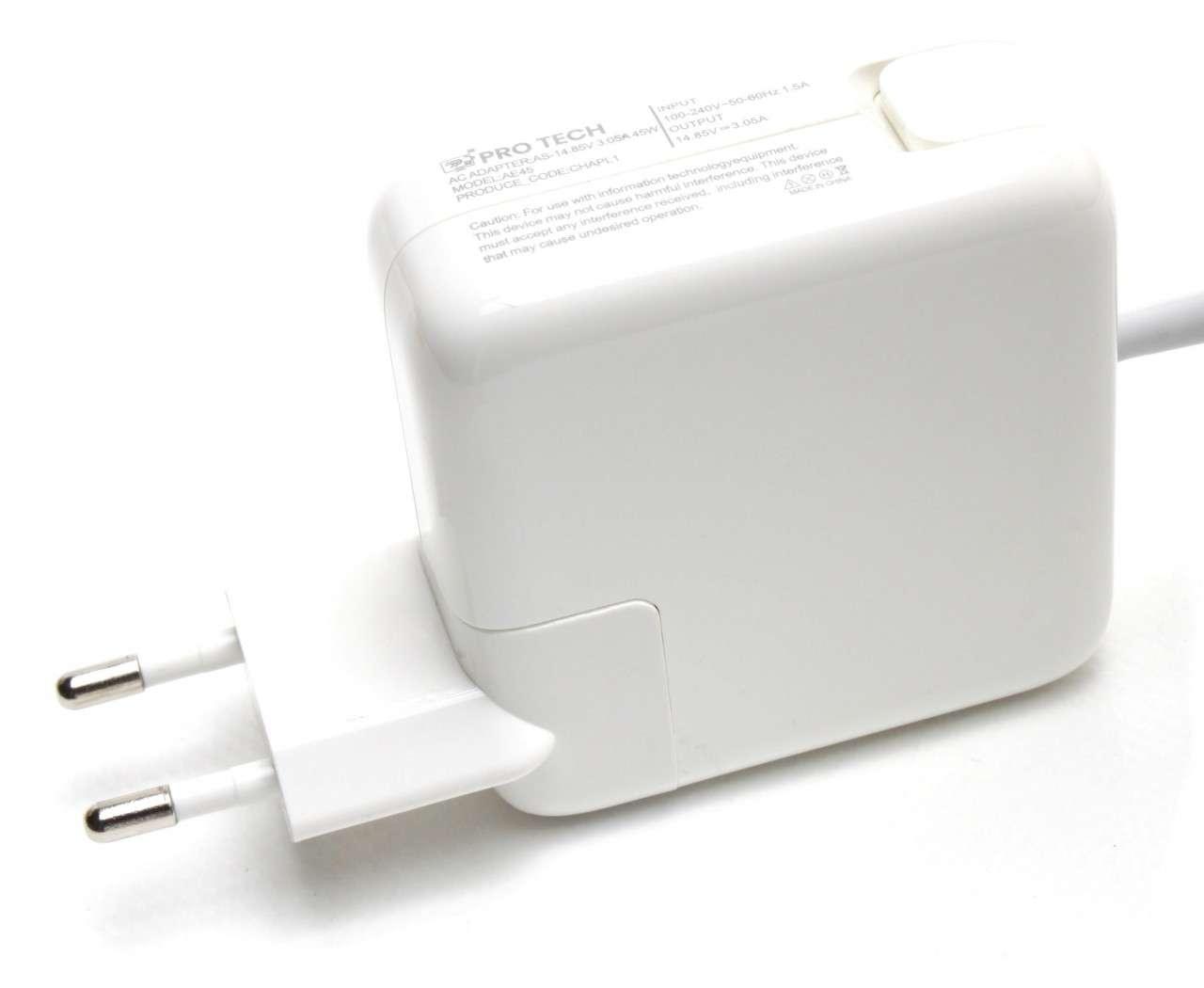 Incarcator Apple MacBook Air 13 inch Late 2012 45W Replacement imagine powerlaptop.ro 2021