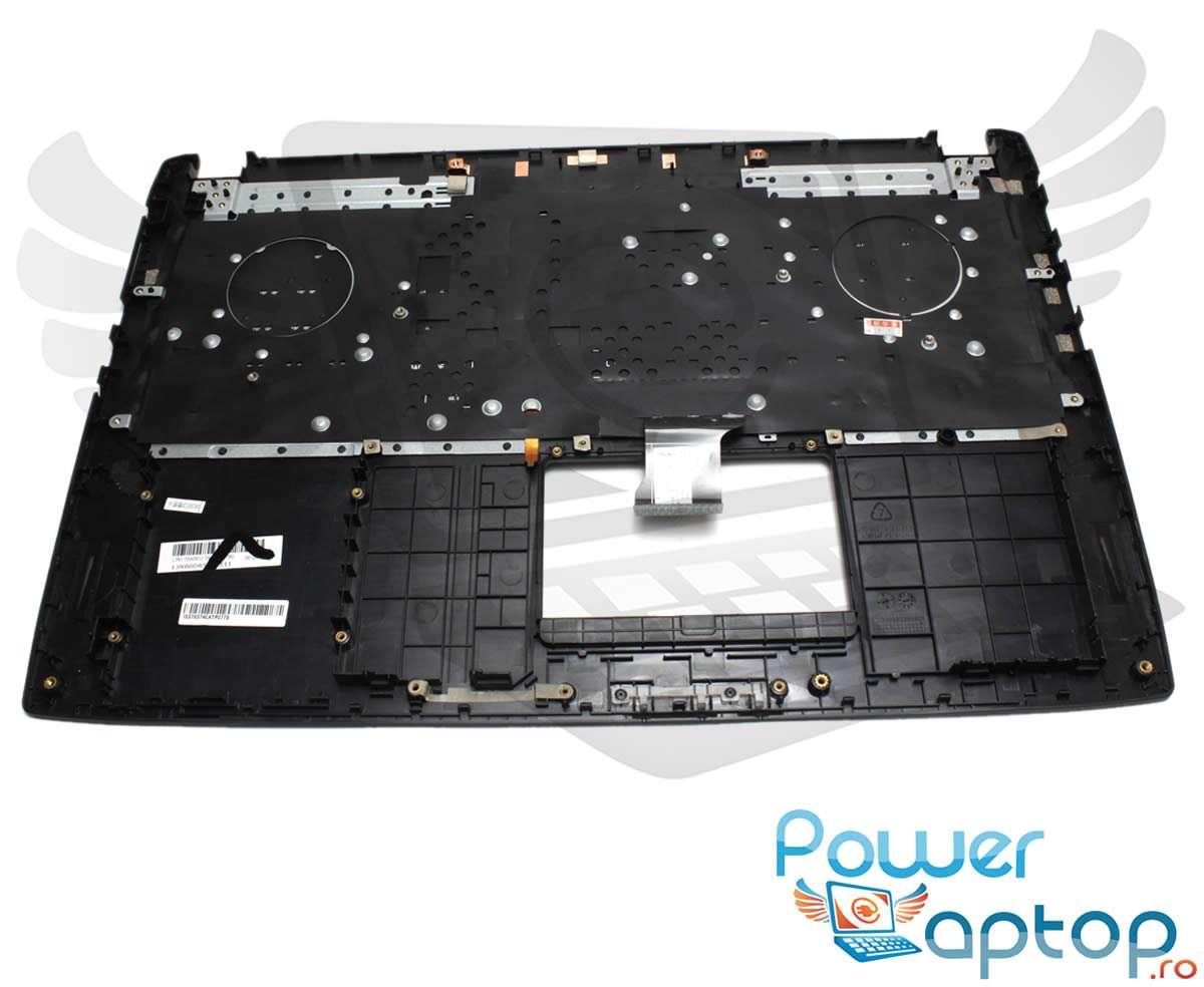 Tastatura Asus ROG GL502VMK neagra cu Palmrest negru iluminata backlit imagine powerlaptop.ro 2021