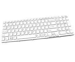 Tastatura Sony Vaio SVE15 alba. Keyboard Sony Vaio SVE15 alba. Tastaturi laptop Sony Vaio SVE15 alba. Tastatura notebook Sony Vaio SVE15 alba