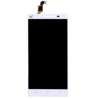 Ansamblu Display LCD  + Touchscreen Lenovo Vibe Z2 Alb. Modul Ecran + Digitizer Lenovo Vibe Z2 Alb