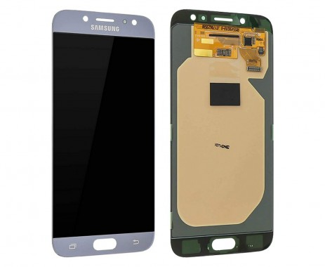 Ansamblu Display LCD + Touchscreen Original Service Pack Silver Samsung Galaxy J7 2017 J730 Silver Argintiu . Ecran + Digitizer Original Service Pack Silver Samsung Galaxy J7 2017 J730 Silver Argintiu
