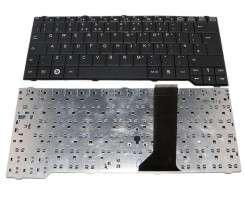 Tastatura Fujitsu Siemens Esprimo Mobile x9525 neagra. Keyboard Fujitsu Siemens Esprimo Mobile x9525 neagra. Tastaturi laptop Fujitsu Siemens Esprimo Mobile x9525 neagra. Tastatura notebook Fujitsu Siemens Esprimo Mobile x9525 neagra
