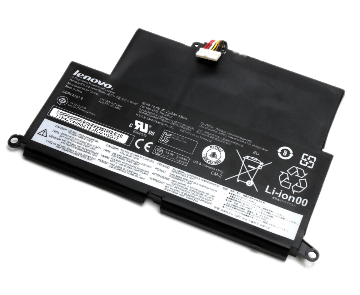 Baterie Lenovo 42T4984 Originala 43Wh 4 celule imagine powerlaptop.ro 2021