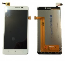 Ansamblu Display LCD Lenovo S850 Alb Original + Touchscreen Lenovo S850 Alb Original