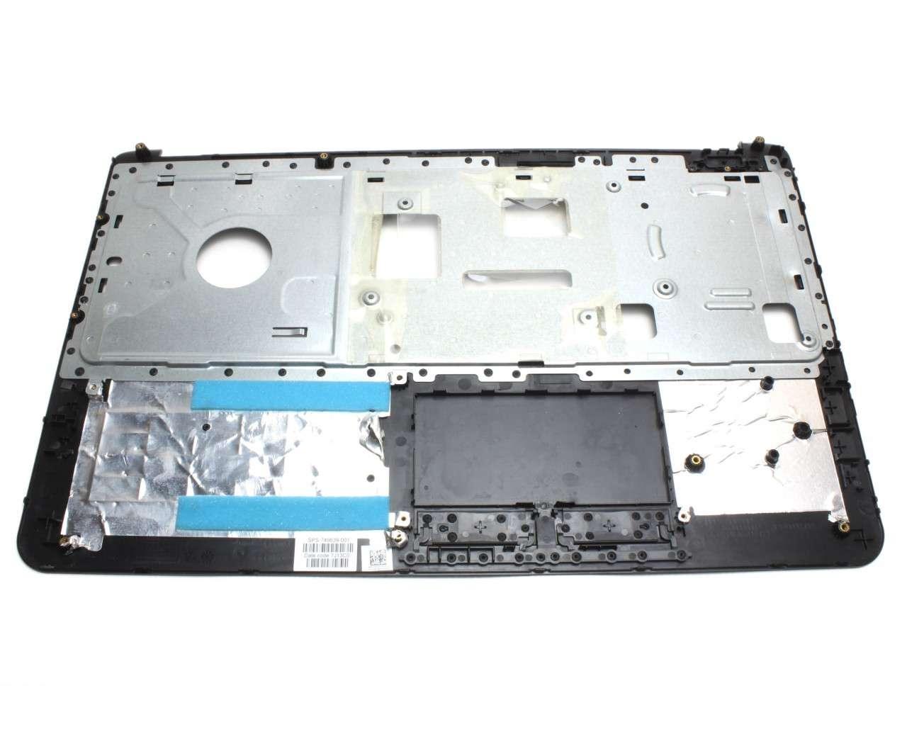 Palmrest HP 762529 001 Negru fara touchpad imagine powerlaptop.ro 2021