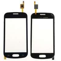 Touchscreen Digitizer Samsung Galaxy Trend Lite S7390 Black Negru. Geam Sticla Smartphone Telefon Mobil Samsung Galaxy Trend Lite S7390 Black Negru