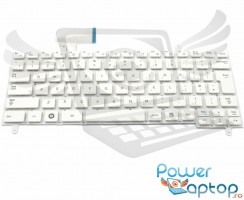 Tastatura Samsung  N220 alba. Keyboard Samsung  N220. Tastaturi laptop Samsung  N220. Tastatura notebook Samsung  N220
