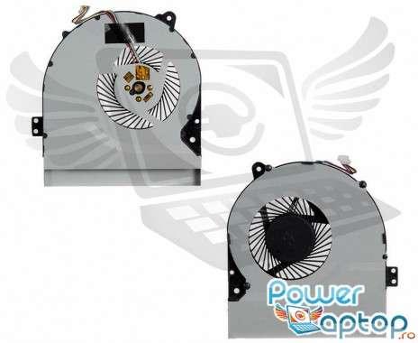 Cooler laptop Asus  F70SL  11mm grosime. Ventilator procesor Asus  F70SL. Sistem racire laptop Asus  F70SL