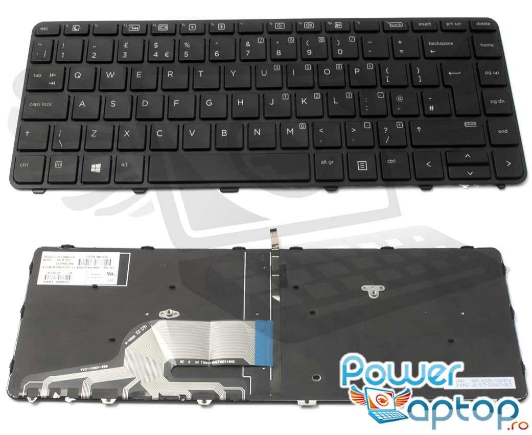 Tastatura HP ProBook 430 G3 iluminata backlit imagine powerlaptop.ro 2021