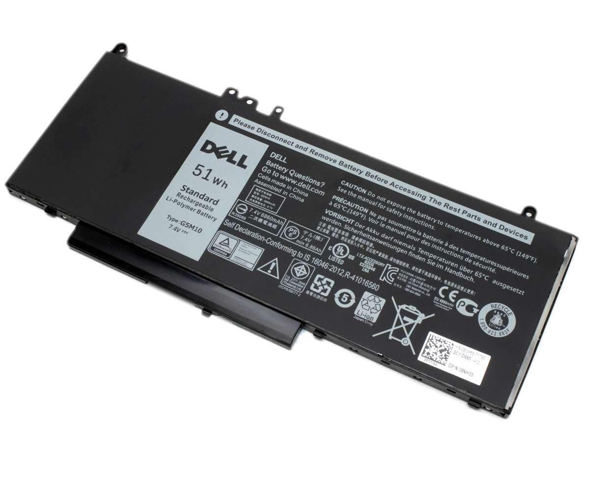 Baterie Dell  6MT4T Originala 51Wh 4 celule. Acumulator Dell  6MT4T. Baterie laptop Dell  6MT4T. Acumulator laptop Dell  6MT4T. Baterie notebook Dell  6MT4T