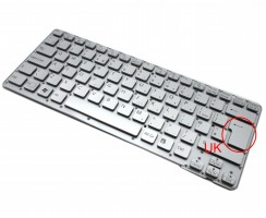 Tastatura Sony 148953861 Argintie. Keyboard Sony 148953861. Tastaturi laptop Sony 148953861. Tastatura notebook Sony 148953861