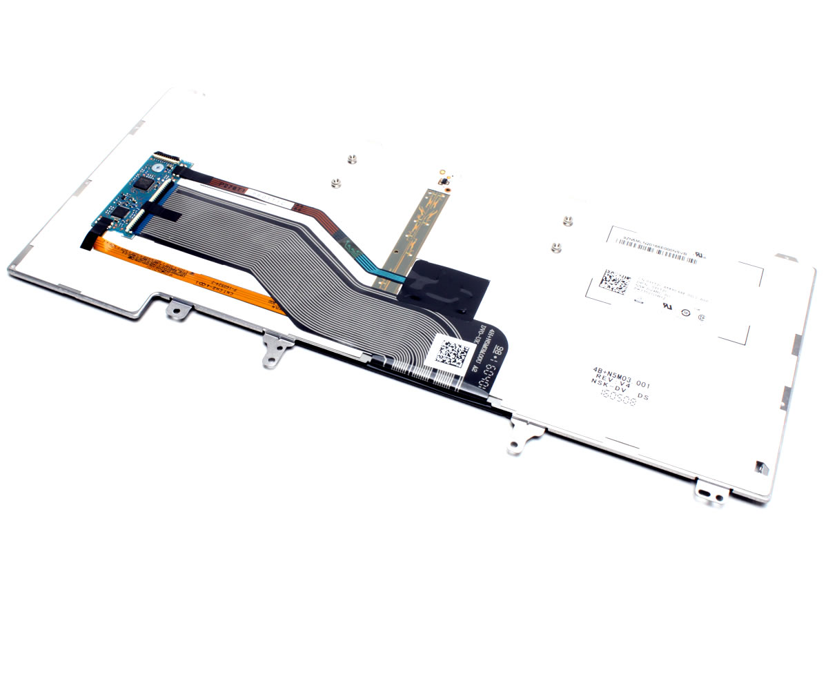 Tastatura Dell Latitude P14F001 iluminata backlit imagine