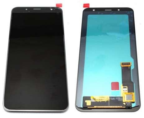 Ansamblu Display LCD + Touchscreen Samsung Galaxy J6 2018 J600 Black Negru . Ecran + Digitizer Samsung Galaxy J6 2018 J600 Negru Black