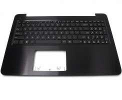 Tastatura Asus  F551CA cu Palmrest maro. Keyboard Asus  F551CA cu Palmrest maro. Tastaturi laptop Asus  F551CA cu Palmrest maro. Tastatura notebook Asus  F551CA cu Palmrest maro