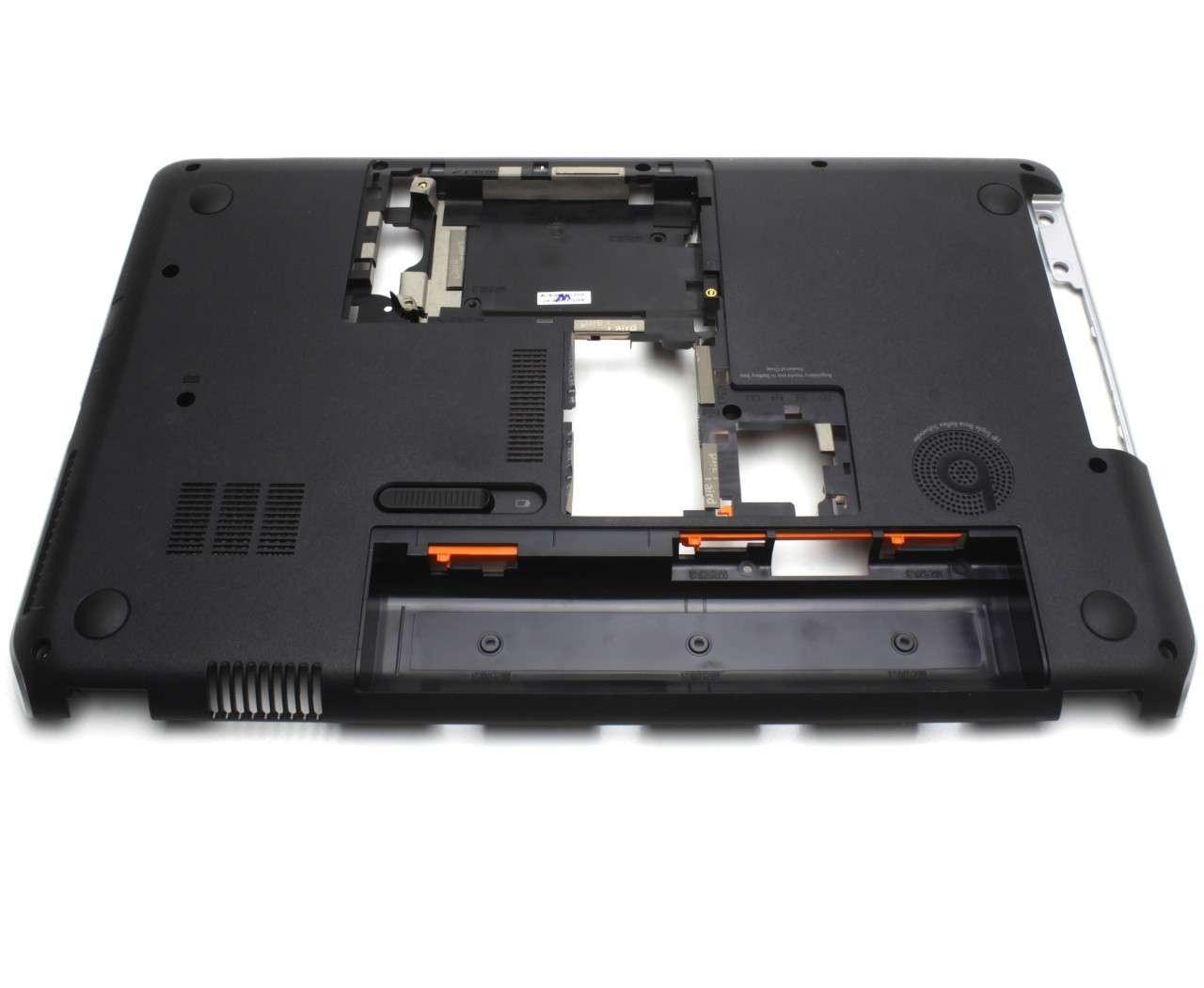 Bottom Case HP Pavilion DV6 7000 Carcasa Inferioara Neagra imagine powerlaptop.ro 2021