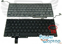 Tastatura Apple MacBook Pro MC024LL/A. Keyboard Apple MacBook Pro MC024LL/A. Tastaturi laptop Apple MacBook Pro MC024LL/A. Tastatura notebook Apple MacBook Pro MC024LL/A