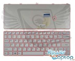 Tastatura Sony Vaio SVE11135CXW Rama roz. Keyboard Sony Vaio SVE11135CXW Rama roz. Tastaturi laptop Sony Vaio SVE11135CXW Rama roz. Tastatura notebook Sony Vaio SVE11135CXW Rama roz