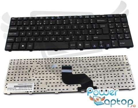 Tastatura Medion Akoya E7222 cu rama. Keyboard Medion Akoya E7222 cu rama. Tastaturi laptop Medion Akoya E7222 cu rama. Tastatura notebook Medion Akoya E7222 cu rama