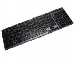 Tastatura Toshiba  9Z.N4YBC.20U iluminata backlit. Keyboard Toshiba  9Z.N4YBC.20U iluminata backlit. Tastaturi laptop Toshiba  9Z.N4YBC.20U iluminata backlit. Tastatura notebook Toshiba  9Z.N4YBC.20U iluminata backlit