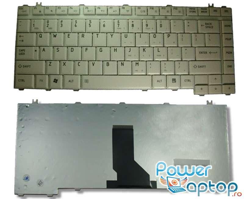 Tastatura Toshiba PK13TQ00100 alba imagine