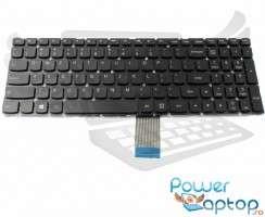 Tastatura Lenovo IdeaPad 500-15ISK iluminata. Keyboard Lenovo IdeaPad 500-15ISK. Tastaturi laptop Lenovo IdeaPad 500-15ISK. Tastatura notebook Lenovo IdeaPad 500-15ISK