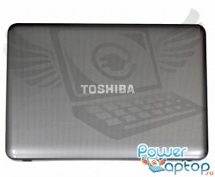 Carcasa Display Toshiba Satellite C850. Cover Display Toshiba Satellite C850. Capac Display Toshiba Satellite C850 Gri